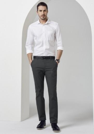 Biz Collection Men's Barlow Pant - Grey Model