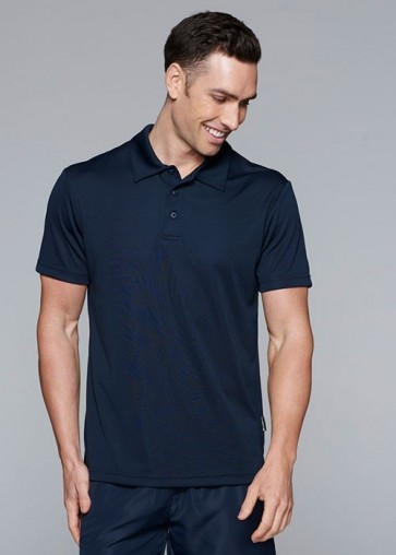 Aussie Pacific Men's Botany Polo - Navy Model