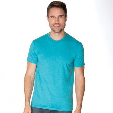 Next Level Men's CVC Crew - Bondi Blue Model