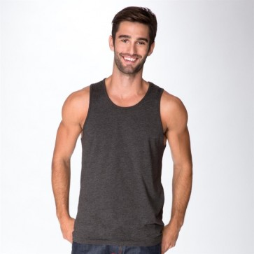 Next Level Men's CVC Tank - Charcoal Model