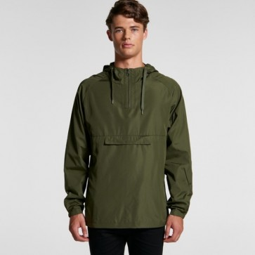 AS Colour Men's Cyrus Windbreaker - Army Model Front