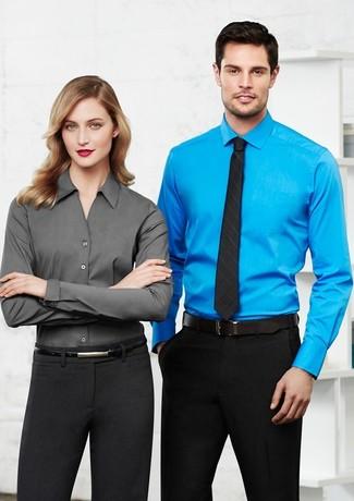 Biz Collection Ladies Monaco Long Sleeve Shirt - Models