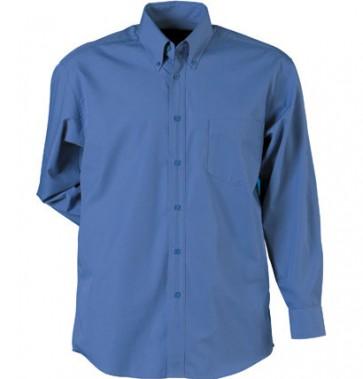 Stencil Mens Nano Shirt Long Sleeve - Slate Blue