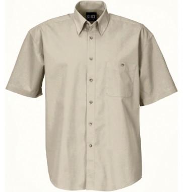 Stencil Mens Nano Shirt Short Sleeve - Beige