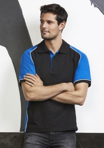 Biz Collection Men's Nitro Polo Shirt - Model