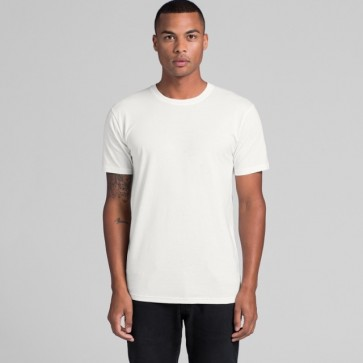 AS Colour Men's Organic Tee - Unisex Product - White Model Front
