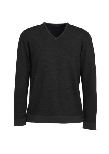 Mens Origin Merino Pullover Black/Charcoal ONLY