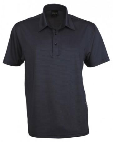 Stencil Silvertech Men's Polo Shirt - Black