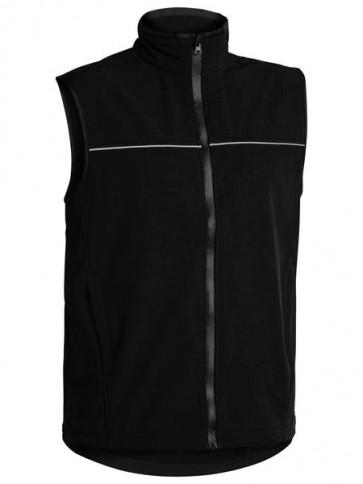 Bisley Men's Soft Shell Vest - Front