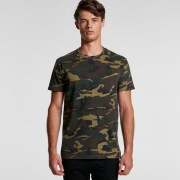 AS Colour Men's Staple Camo Tee - Model Front