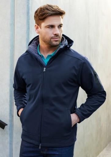 Biz Collection Men's Summit Jacket - Navy Graphite Model