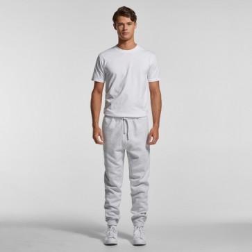 AS Colour Men's Surplus Track Pants - White Marle Model Front