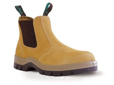 Bata Mecury Sand Suede Slip On Safety Boot