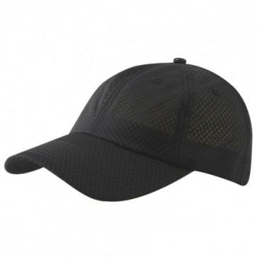 Mesh Sports Cap - Black