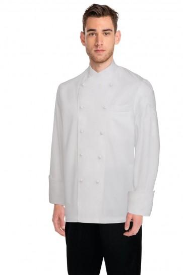 Chef Works Milan White 100% Cotton Chef Jacket