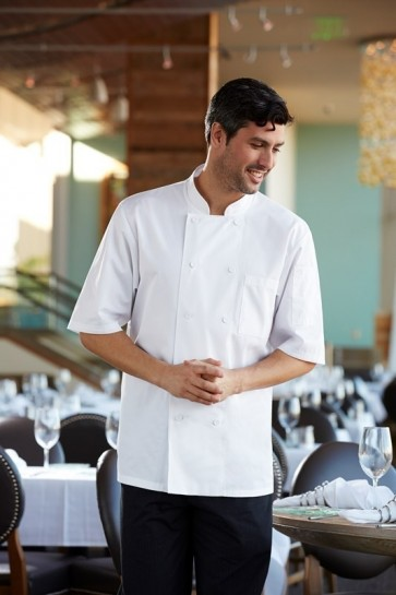 Chef Works Montreal Cool Vent Chef Jacket - White Front