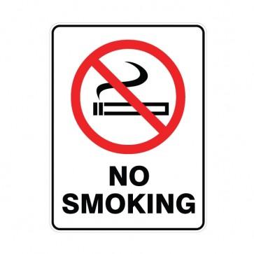 No Smoking Sign 300 x 225mm Metal