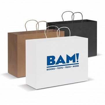 Paper Carry Bag - Extra Large - All Colours