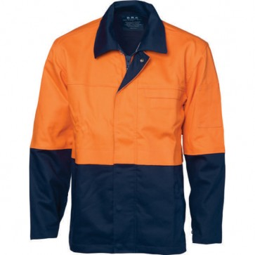 DNC Patron Saint® Flame Retardant Two Tone Drill Welder's Jacket