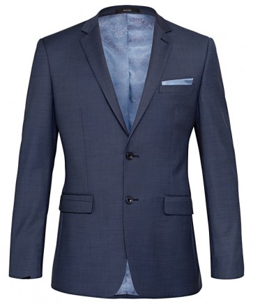 Pierre Cardin Mens Blue Wool Jacket
