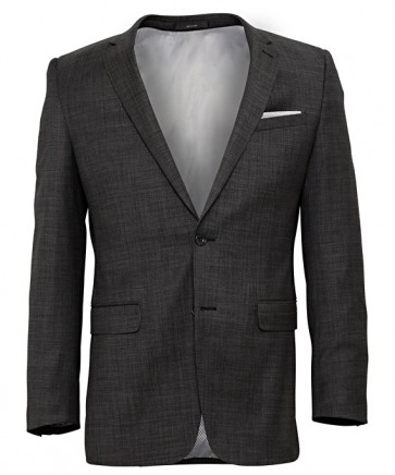 Pierre Cardin Mens Charcoal Wool Jacket