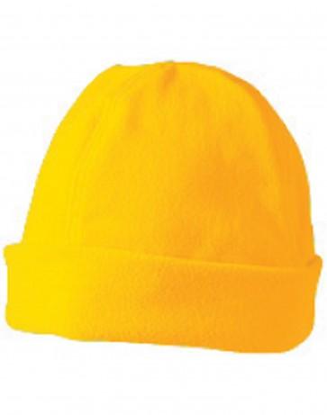 Polar Fleece Beanie Fluro Yellow CH27