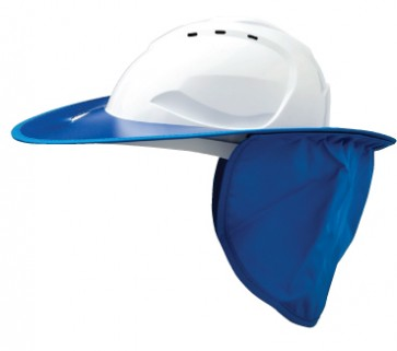 Pro Choice Shade Halo Plastic Hard Hat Brim - Blue