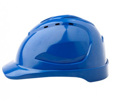 Pro Choice Vented Hard Hat - blue