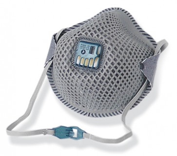 P2 Pro Mesh Respirator - Valved with Active Carbon Filter (12 in Box)