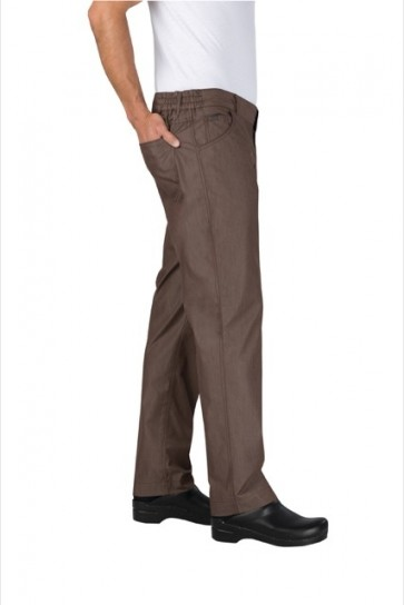 Chef Works Professional Men's Lite' Chef Pants - Earth