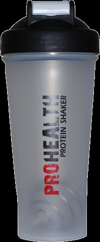 Protein Shaker 600ml - Black