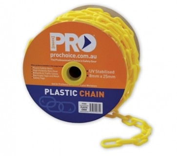 Safety Chain Yellow 25M