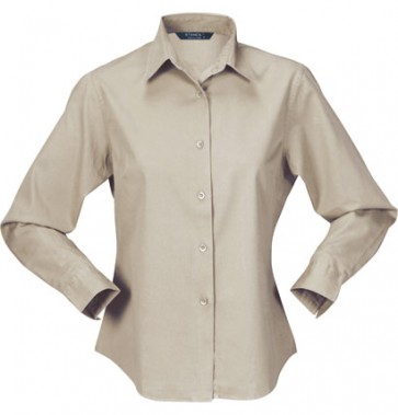 Stencil Ladies Nano Shirt 3/4 Sleeve - Beige