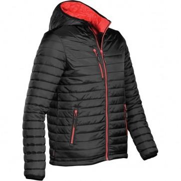 Stormtech Mens Men's Gravity Thermal Jacket - Black True Red