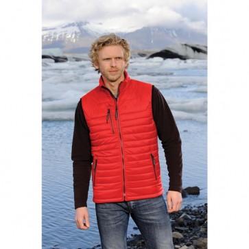 Stormtech Mens Men's Gravity Thermal Vest - True Red Black Model