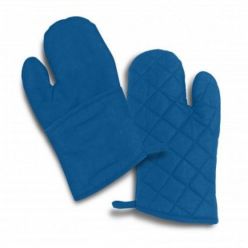 Trend Collection Canvas Oven Mitt - Royal Blue