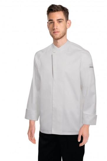 Chef Works Trieste White 100% Cotton Chef Jacket