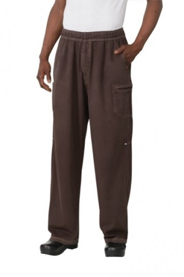 Chef Works Utility Chocolate Chef Pants