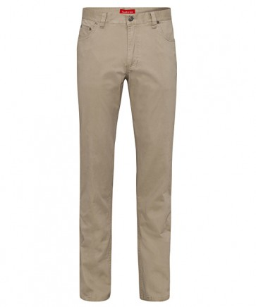 Van Heusen Men's Cotton Stretch Jean Style Pant - Sand
