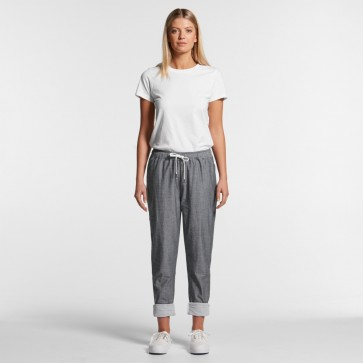 AS Colour WO's Madison Pants - Steel Model Front