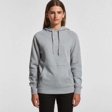 AS Colour WO's Supply Hood - Grey Marle Model Front