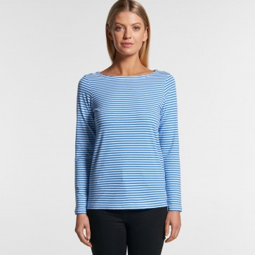 AS Colour Women's Bowery Stripe Long Sleeve Tee