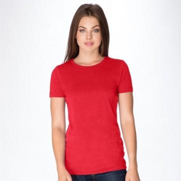 Next Level Women's CVC Crew - Red Model