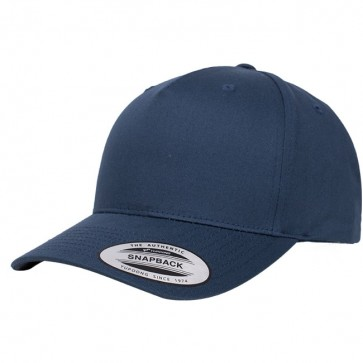 Yupoong Classic 5 Panel - Navy Front