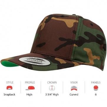 Yupoong Classic Green Camo Snapback - Cap Key