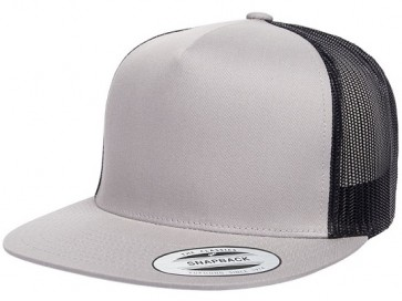 Yupoong Classic Truckers - Silver Black