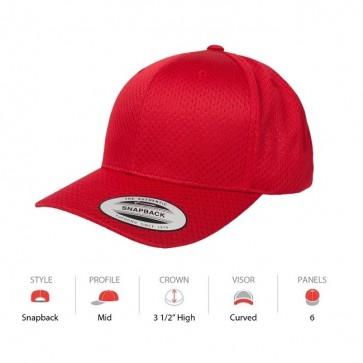 Yupoong Sports Cap - Red Cap Key