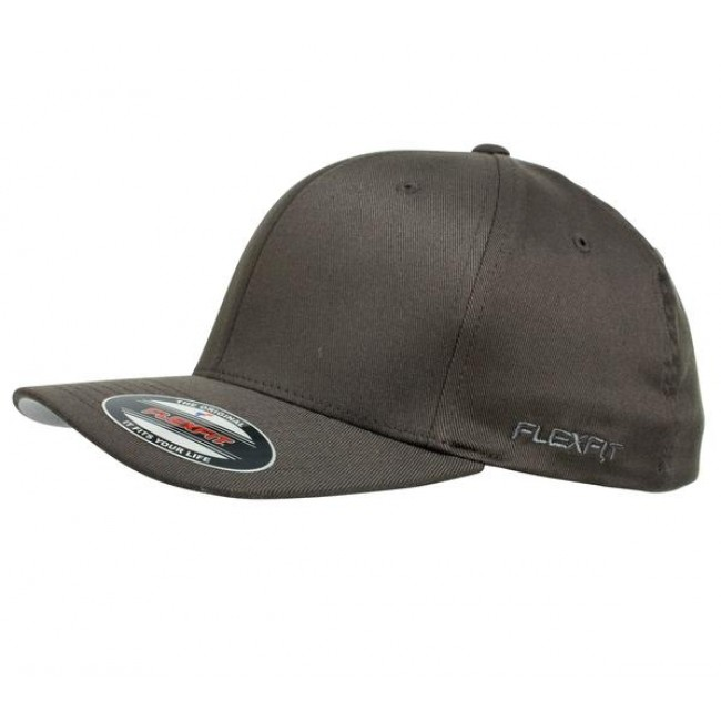 eaff0a4e NEW BROWNING YORK FLEX FIT HAT BALL CAP BUCKMARK LOGO GRAY Flexfit Hat Grey:  Flexfit Perma Curve Cap