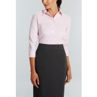 Gloweave Guildford Womens Square Textured 3/4 Sleeve Shirt