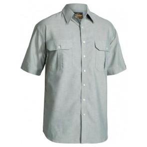 Bisley Oxford Shirt Short Sleeve